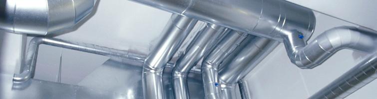 Ventilationsanläggning med spirorör