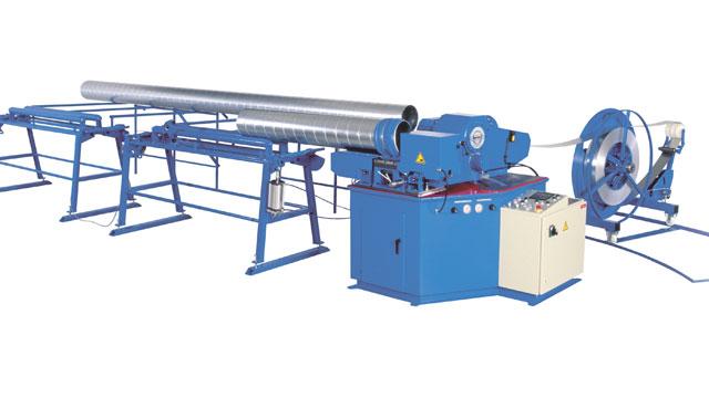 Tillverkning av spirorör i spirorörsmaskin